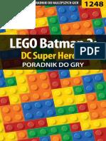 1248 LEGO Batman 2 - DC Super Heroes - Poradnik GRY-OnLine