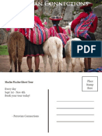peruvian connections post card