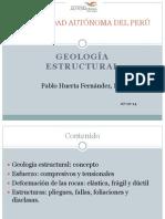 Sesión 6. Geología Estructural. 07-10-14