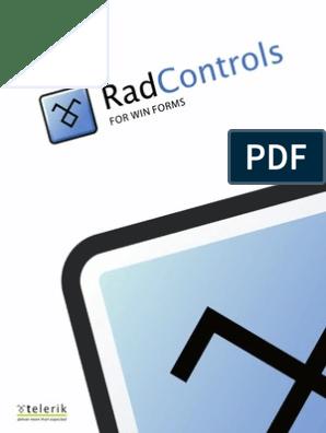 Telerik Ui for Winforms Courseware | Usability | Microsoft Visual Studio