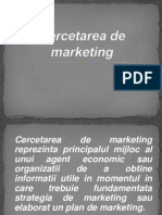 Cercetarea Calitativa de Marketing