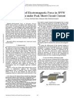 Investigation of Electromagnetic Force in 3P5W Busbar System Under Peak Short Circuit Current