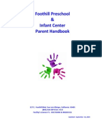 2014 FPS IC Parent Handbook - Final - Updated 09 16 2014