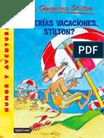Querias Vacacciones,Stilton