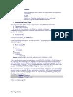 XML Features