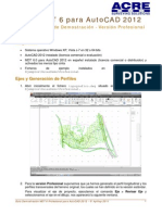 Guía Demostración MDT 6 Profesional Para AutoCAD 2012 Prod 45245