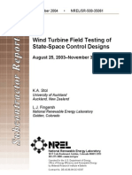 Wind Turbine Field Testing of State-Space Control Designs