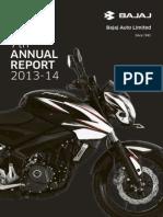 Bajaj Annual Report 13-14