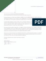 Lettera Informativa Soci Reseda