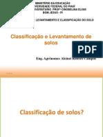 Aula_Introdução a Classificação de Solos