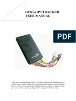 TK100 GPS Tracker User Manual