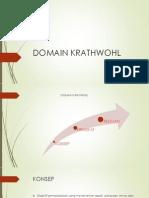 Domain Krathwohl