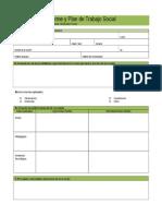 Informe y Plan de Trabajo Social
