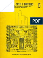 Templos Cuevas o Monstruos Arquitectura Prehispanica