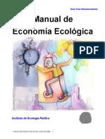 Van Hauwermeiren Saar, Manual de Economía Ecológica