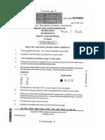 CXC Past Paper 1 June 2010 Doc