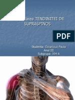 Reumato- Cozariciuc Paula- Tendinita de Supraspinos