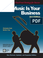 Music is Your Business (the Musician's FourFront Strategy for Success ) - Christopher Knab