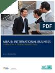 Brochure MBA 2014
