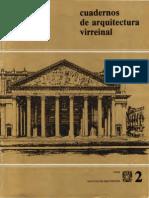 Cuadernos de Arquitectura Virreinal