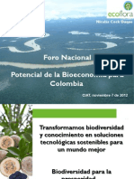 Caso Ecoflora Taller Bioeconomia CIAT