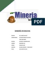 Mineralogía en Bolivia