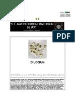 Ilé Awon Ogboni Balogun Ni Ifa
