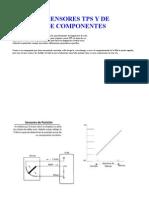 Sensores Tps y de Posicion de Componentes