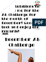 December Ab Challenge