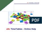 Asc Timetables en P1