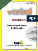 CATking Verbal Workbook