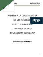 Aportes Construcción-Acuerdos Onvivencia Secundaria