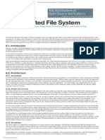 The Architecture of Open Source Applications_ the Hadoop Distributed File System