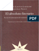 Nancy y Labarthe El Absoluto Literario