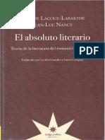 Nancy y Labarthe El Absoluto Literario