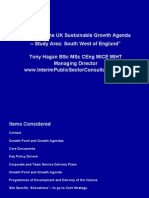 UK Sustainable Growth Agenda - South West of England