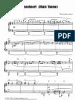 Sheet Music - Braveheart (Main Theme)
