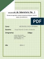 informe bioseguridad
