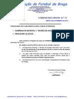 CO N.º 72 FUTEBOL 11_CAMPEONATO DISTRITAL 1.ª DIVISÃO DE INICIADOS_PROGRAMA DE JOGOS.pdf
