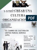 Como Crear Una Cultura Organizacional