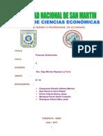 Finanzas Ambientales. (1)