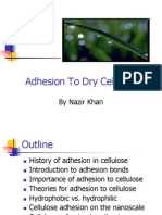 Adhesion Celluluse