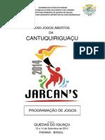 Jarcans 2014 Programação de Jogos