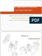 Caroline Stone. Osteopathic Approach