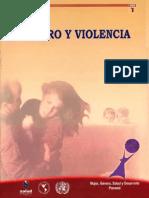 Género y Violencia Año 2002 – Panama