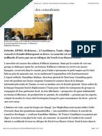 Maghreb | Le nouvel eldorado des consultants | Jeuneafrique.com - le premier site d'information et d'actualité sur l'Afrique