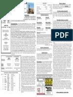 9/21/14 Bulletin