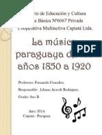 La Musica Paraguaya 1850-1920