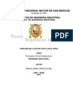 Tesis 2.-Analisis Del Cluster Textil en El Peru