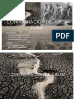 Contaminacion Del Suelo y Aire Expo